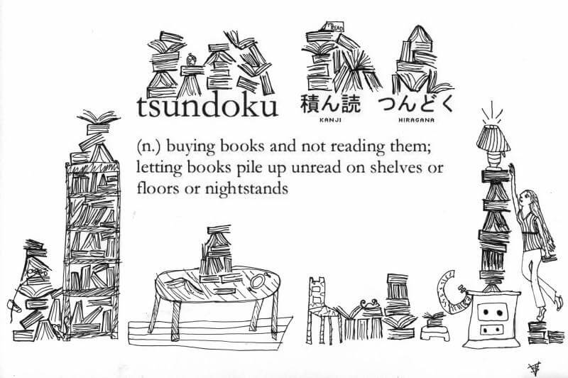 tsunduko is the art of buying books and never reading them